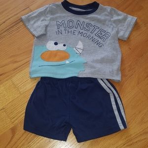 Baby boy pajama set